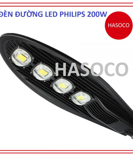 đèn đường led philips 200w