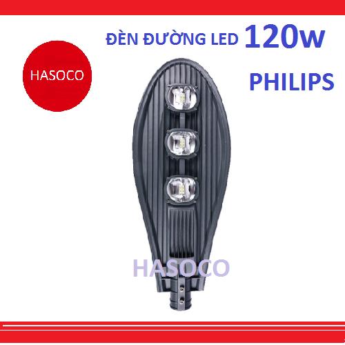 đèn đường led philips 120w