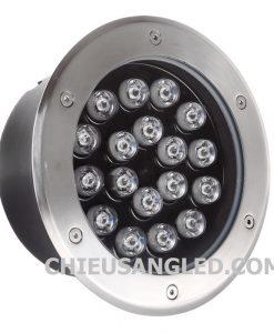 đèn led âm sàn 18w