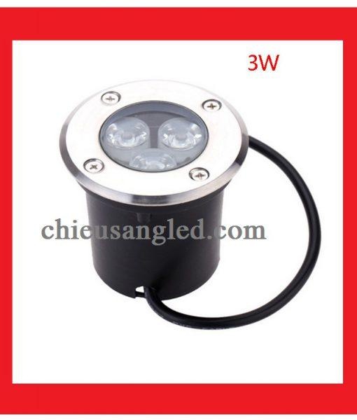 đèn led âm đất 3w